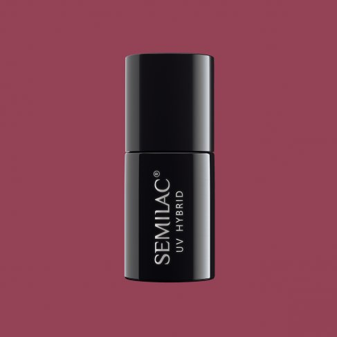 Lakier hybrydowy Semilac 005 - Berry Nude 7ml