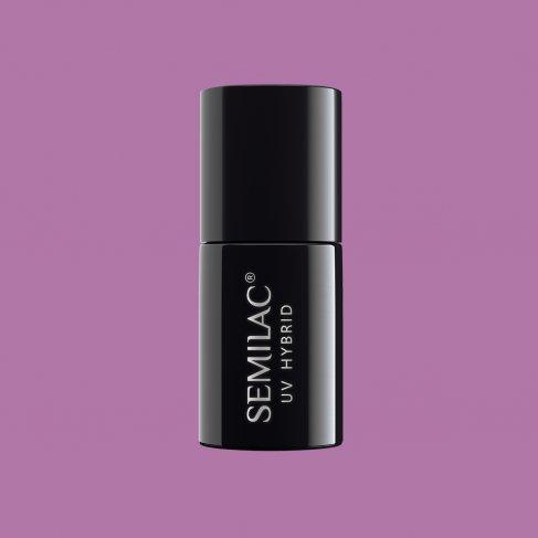 Lakier hybrydowy Semilac 010 - Pink & Violet 7ml
