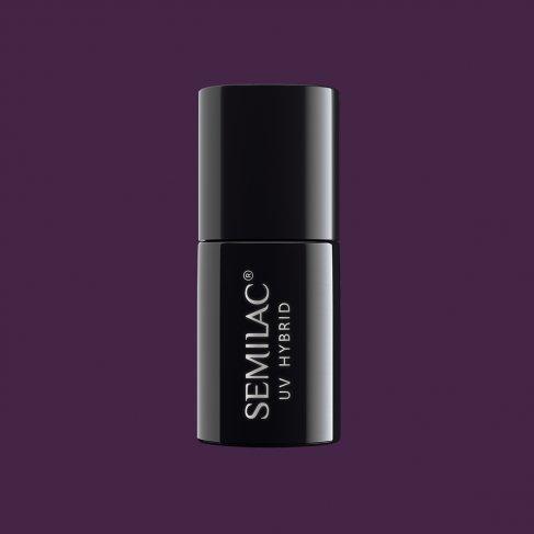 Lakier hybrydowy Semilac 014 - Dark Violet Dreams 7ml
