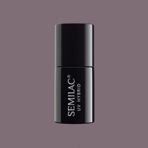 Lakier hybrydowy Semilac 017 - Grey 7ml
