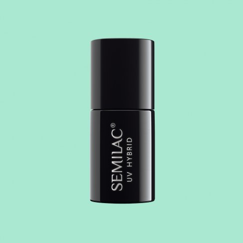 Lakier hybrydowy Semilac 022 - Mint 7ml