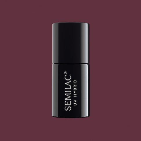 Lakier hybrydowy Semilac 030 - Dark Chocolate 7ml