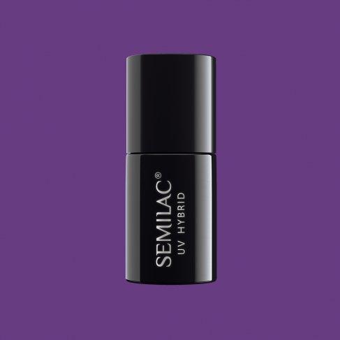 Lakier hybrydowy Semilac 036 - Pearl Violet 7ml