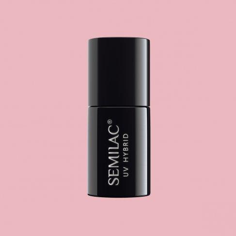 Lakier hybrydowy Semilac 047 - Pink Peach Milk 7ml
