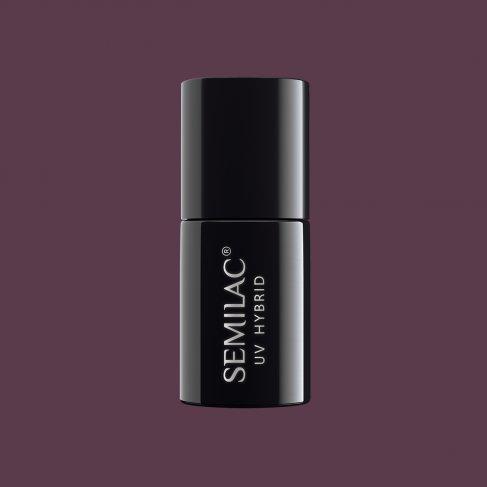 Lakier hybrydowy Semilac 075 - Stylish Brown 7ml