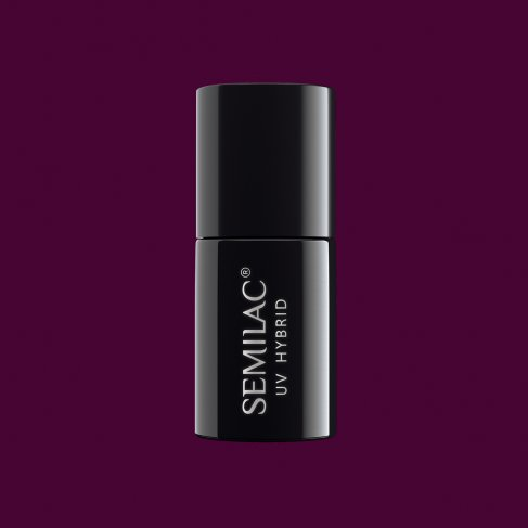 Lakier hybrydowy Semilac 083 - Burgundy Wine 7ml