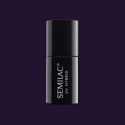 Lakier hybrydowy Semilac 100 - Black Purple 7ml