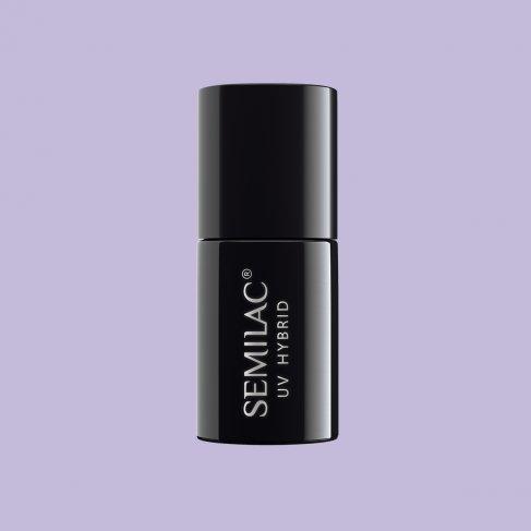Lakier hybrydowy Semilac 127 - Violet Cream 7ml