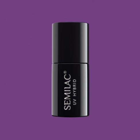 Lakier hybrydowy Semilac 129 - Violet Bliss 7ml