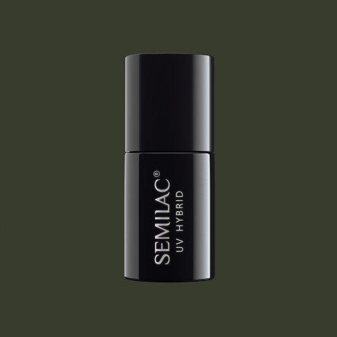 Lakier hybrydowy Semilac 151 - Army Green 7ml
