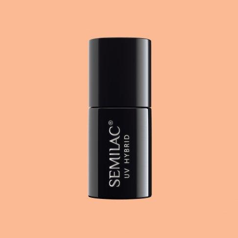 Lakier hybrydowy Semilac 154 - Salmon Dream 7ml