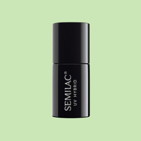 Lakier hybrydowy Semilac 168 - Fresh Pistachio 7ml