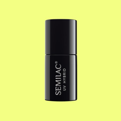 Lakier hybrydowy Semilac 182 - Strong Lime 7ml