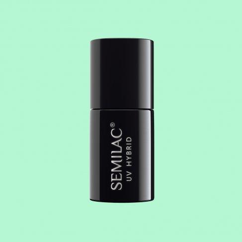 Lakier hybrydowy Semilac 265 - PasTells Mint 7ml