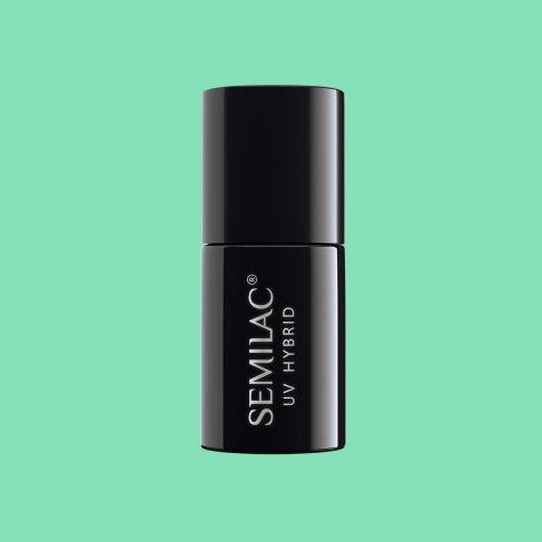 Lakier hybrydowy Semilac 266 - PasTells Green 7ml