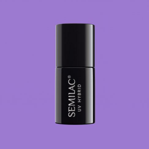 Lakier hybrydowy Semilac 280 - PasTells Medium Violet 7ml