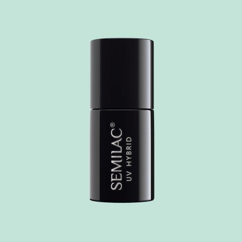 Lakier hybrydowy Semilac 508 - Mint Cream 7ml