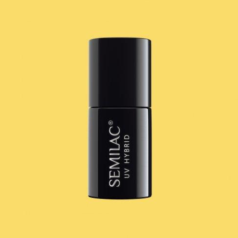 Lakier hybrydowy Semilac 531 - Joyful Yellow 7ml