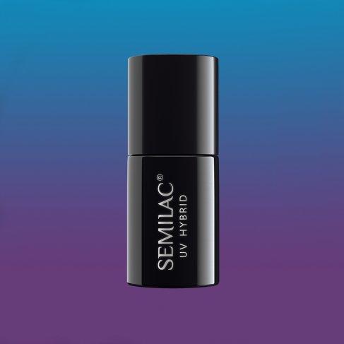 Lakier hybrydowy Semilac 644 - Thermal Plum&Blue 7ml