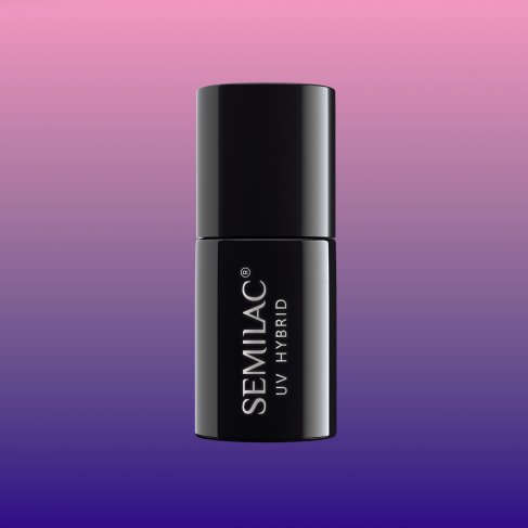 Lakier hybrydowy Semilac 647 - Thermal Indigo&Lilac 7ml