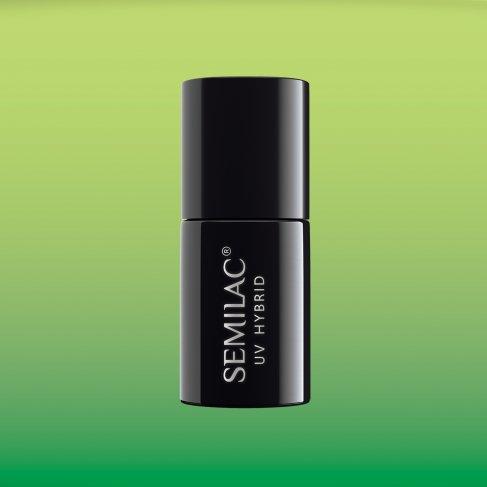 Lakier hybrydowy Semilac 648 - Thermal Green&Lime 7ML