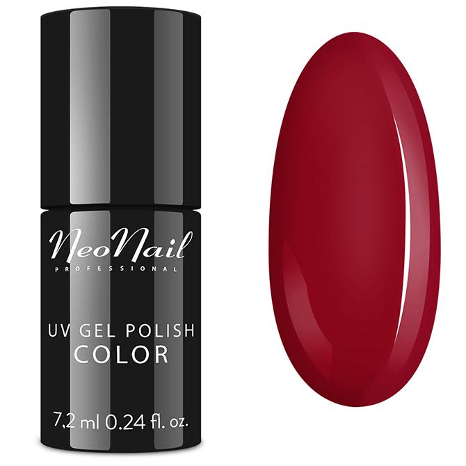 Lakier hybrydowy NeoNail Raspberry Red 7,2 ml