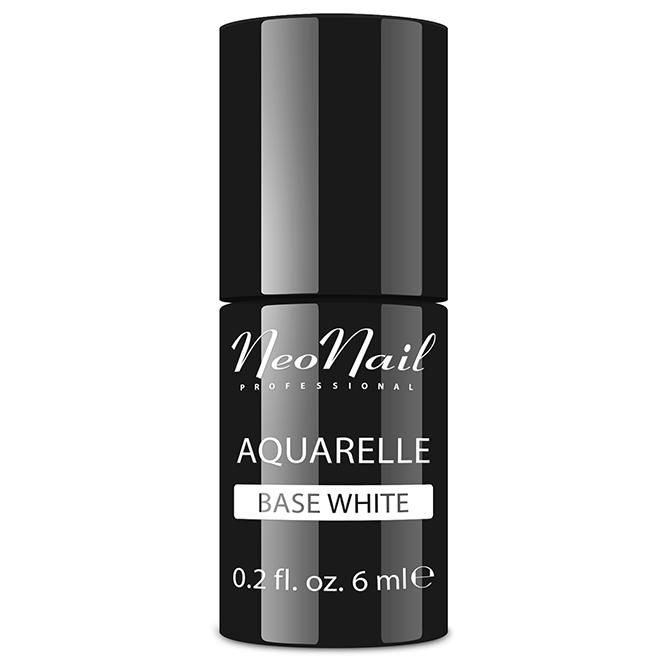 Lakier hybrydowy NeoNail Aquarelle Base White 6 ml