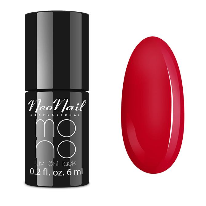 Lakier Mono UV 3w1 Perfect Red 6 ml