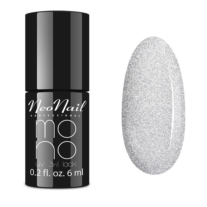 Lakier Mono UV 3w1 Silver Pearl 6 ml