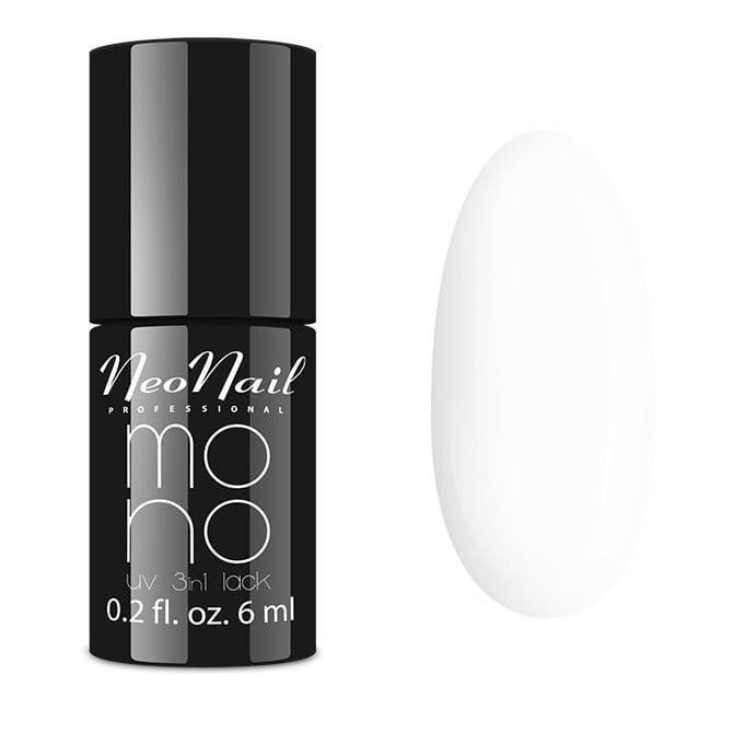 Lakier Mono UV 3w1 White Collar 6 ml