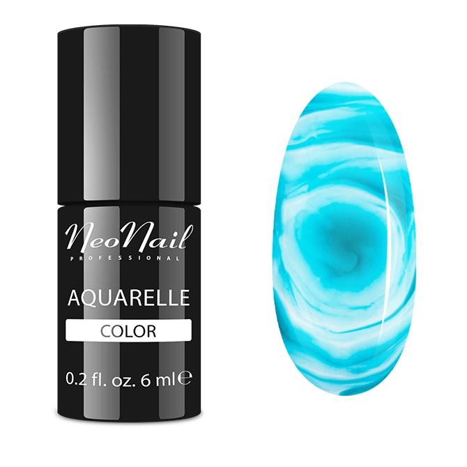 Lakier hybrydowy NeoNail Emerald Aquarelle 6 ml