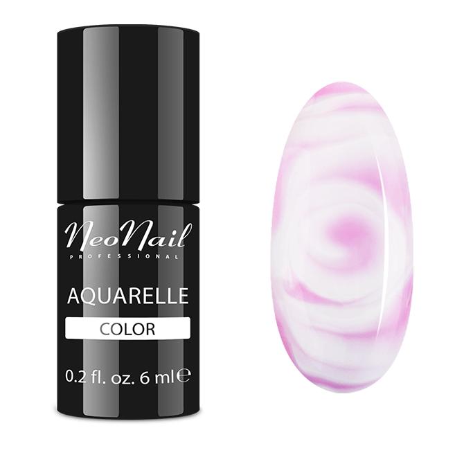 Lakier hybrydowy NeoNail Pink Aquarelle 6 ml