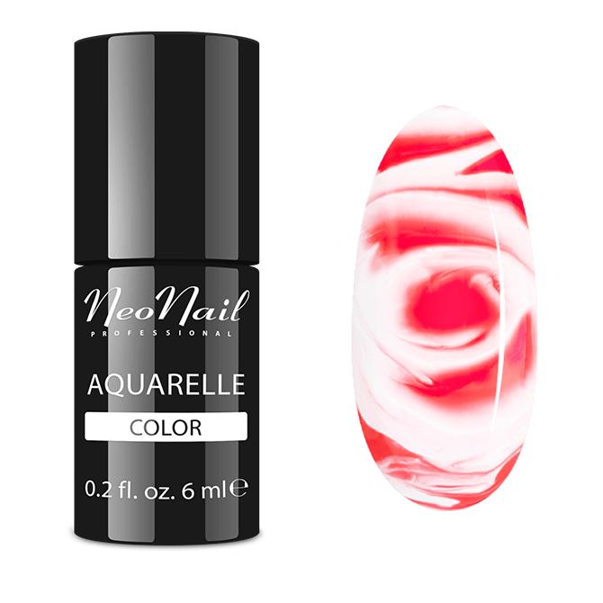 Lakier hybrydowy NeoNail Ruby Aquarelle 6 ml