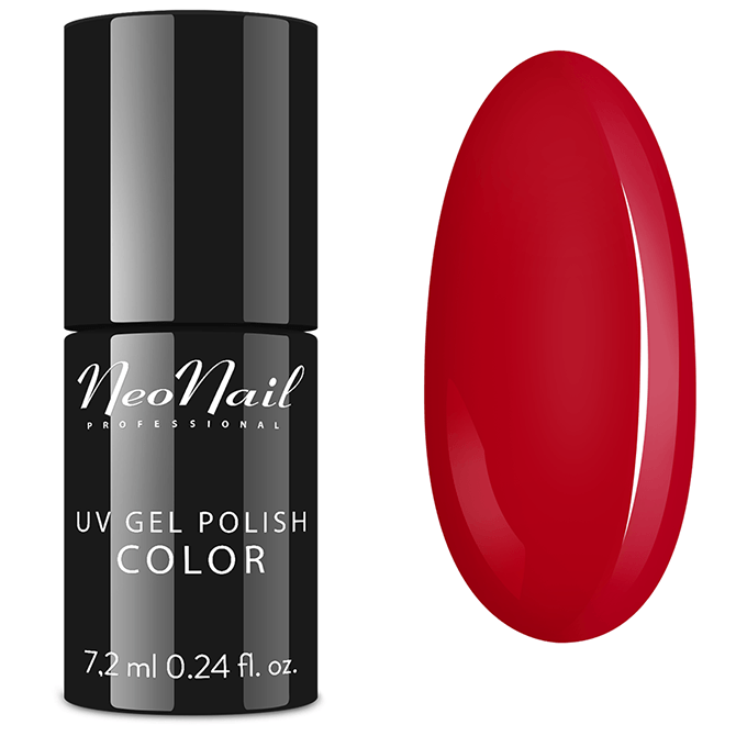 Lakier hybrydowy NeoNail UV Sexy Red 7,2 ml