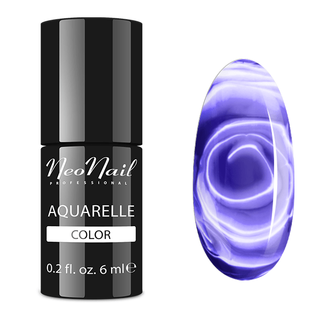 Lakier hybrydowy NeoNail Violet Aquarelle 6 ml