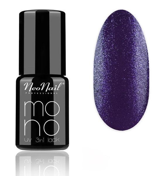 Lakier Mono UV 3w1 Violet Glitter 6 ml